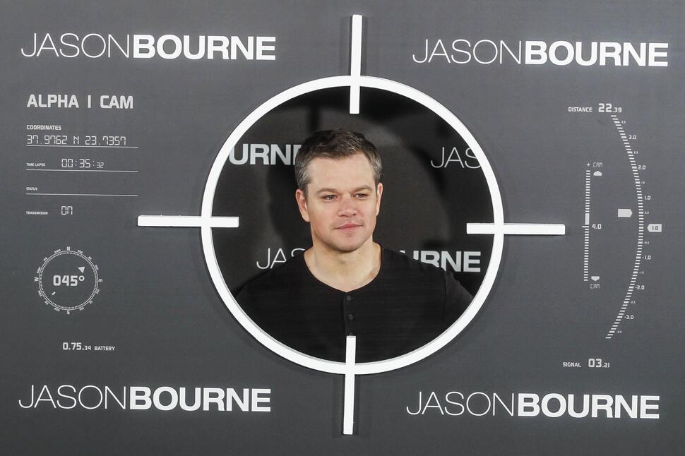 Мэтту Дэймону пришлось «пострадать» ради нового фильма о Борне