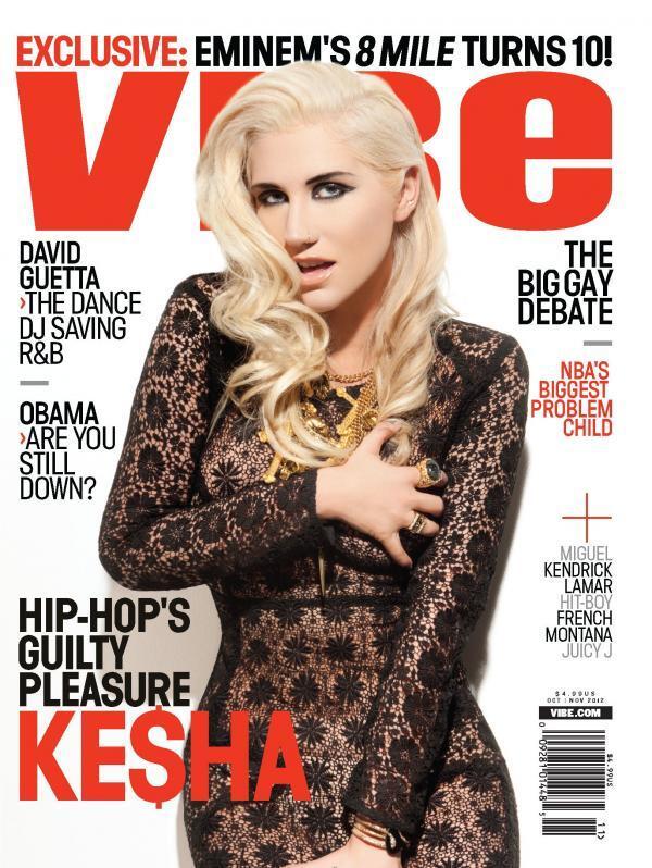 Ke$ha в журнале Vibe. Ноябрь 2012
