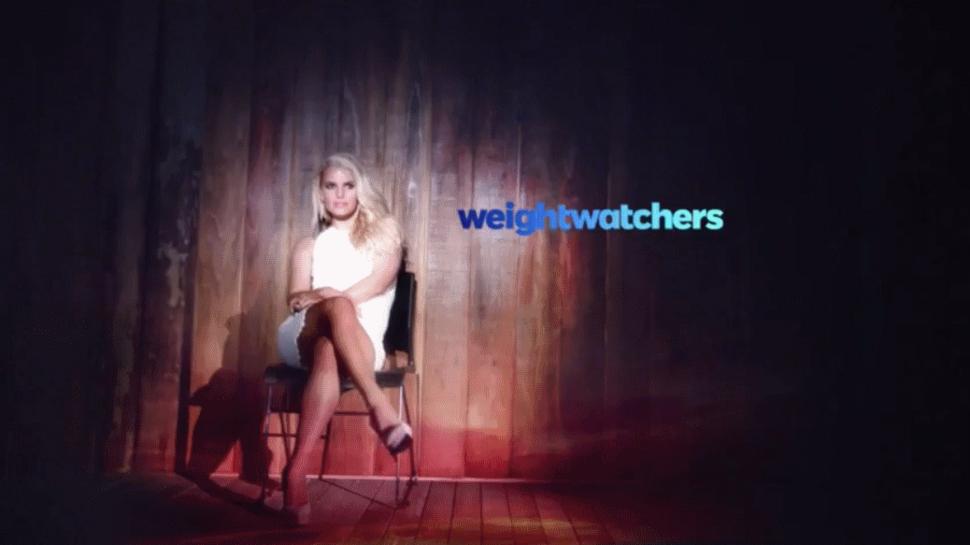 Джесссика Симпсон в новой рекламе Weight Watchers
