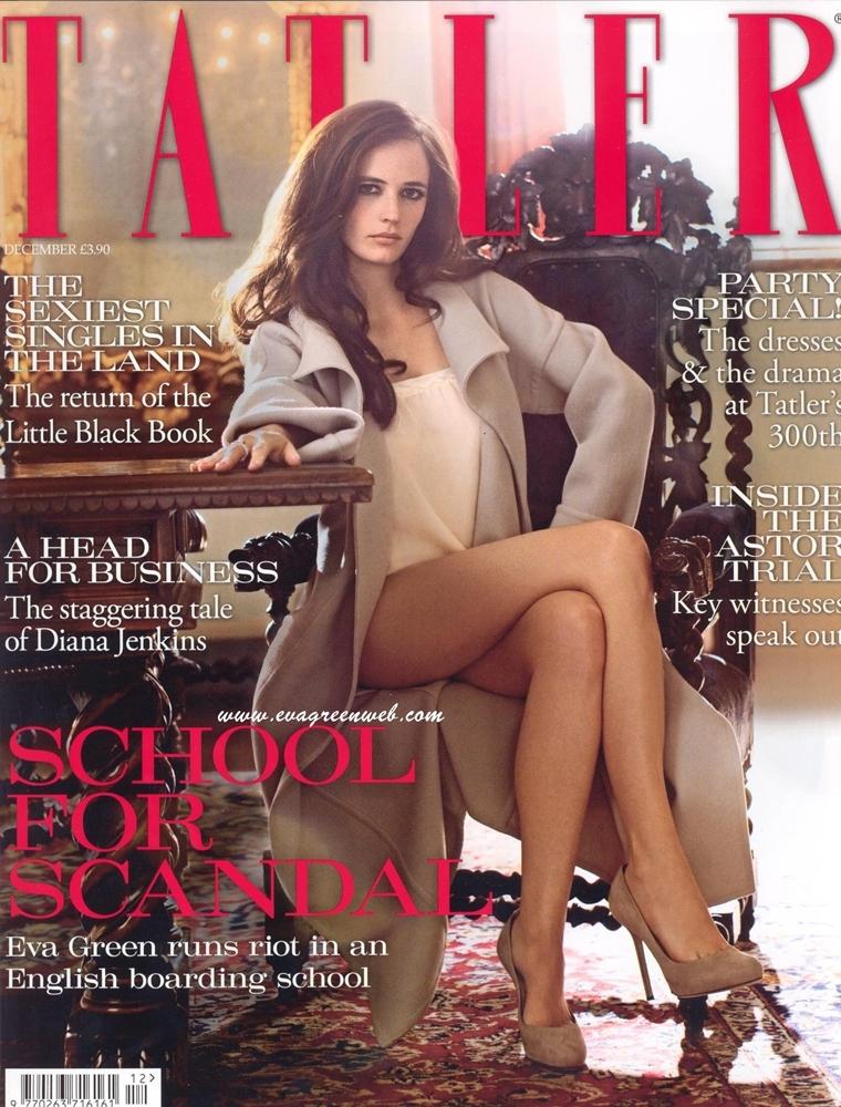 Ева Грин в журнале Tatler. Декабрь 2009