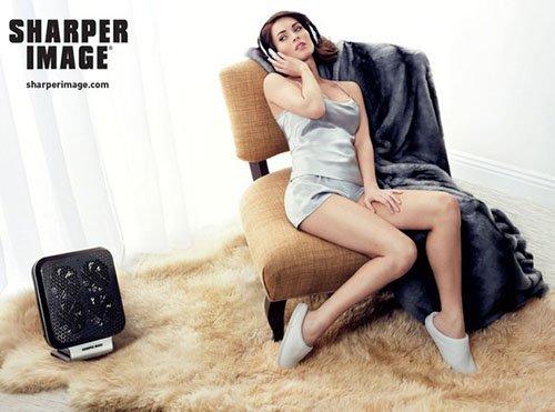 Меган Фокс в новой рекламной кампании Sharper Image