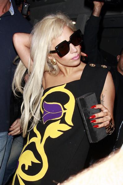 Lady Gaga в Лос-Анджелесе