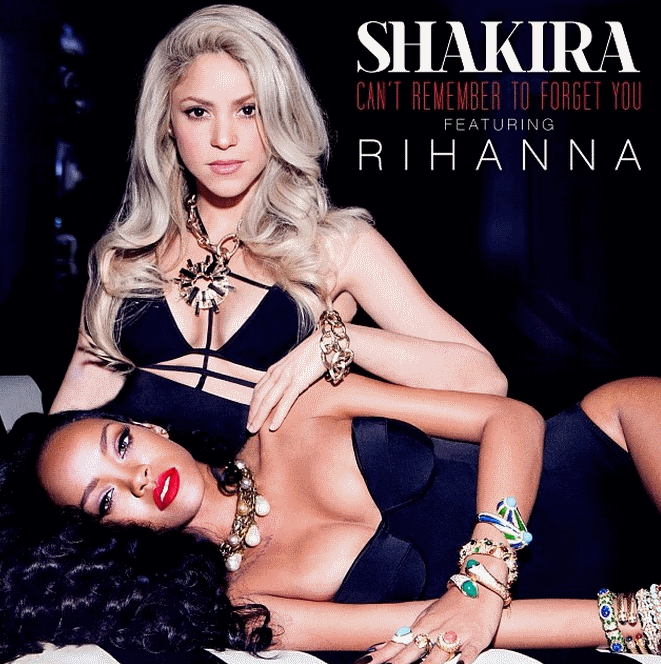 Обложка нового сингла Шакиры и Рианны
