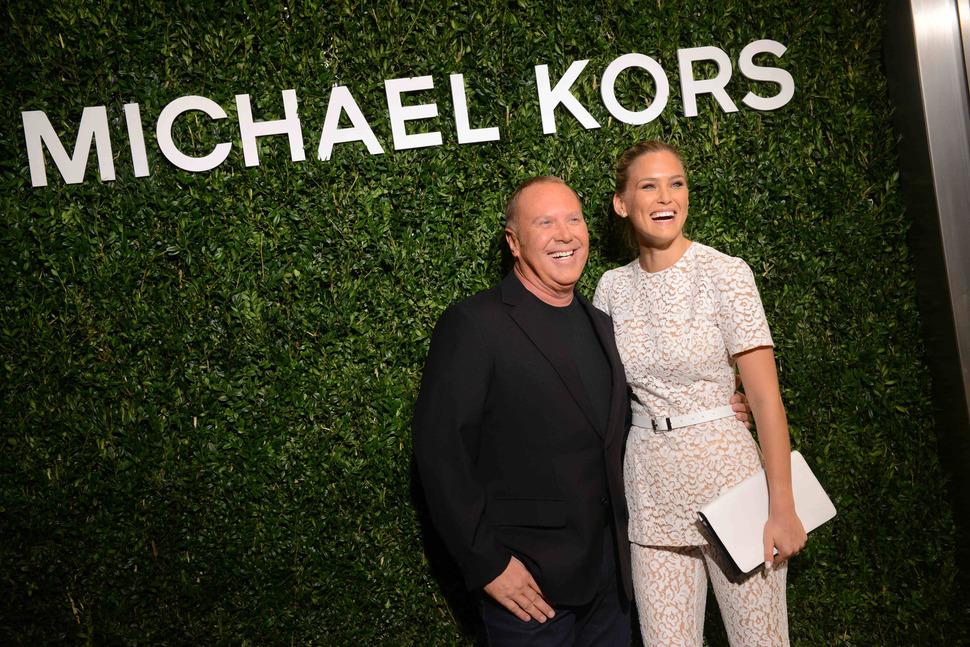 Открытие бутика Michael Kors в Милане