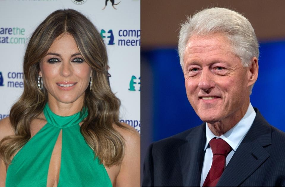У Элизабет Херли был роман с Биллом Клинтоном?