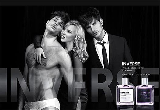 Реклама нового парфюма от Кайли Миноуг