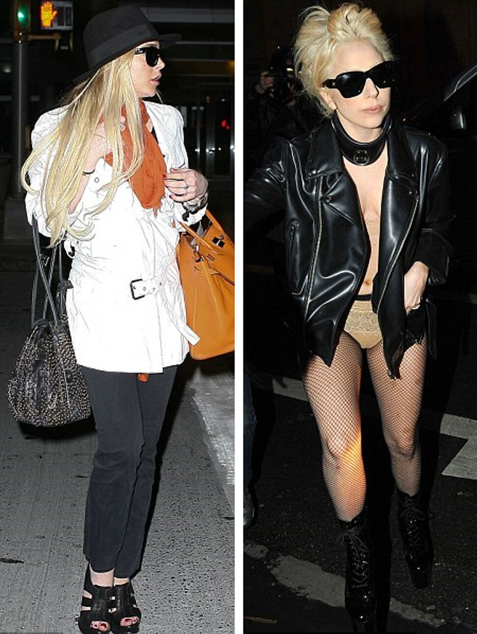 Линдсей Лохан перепутали с Lady GaGa
