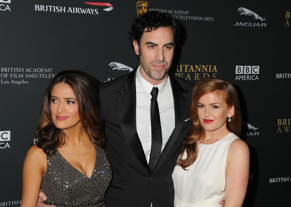 Звезды на церемонии BAFTA Brittania Awards 2013