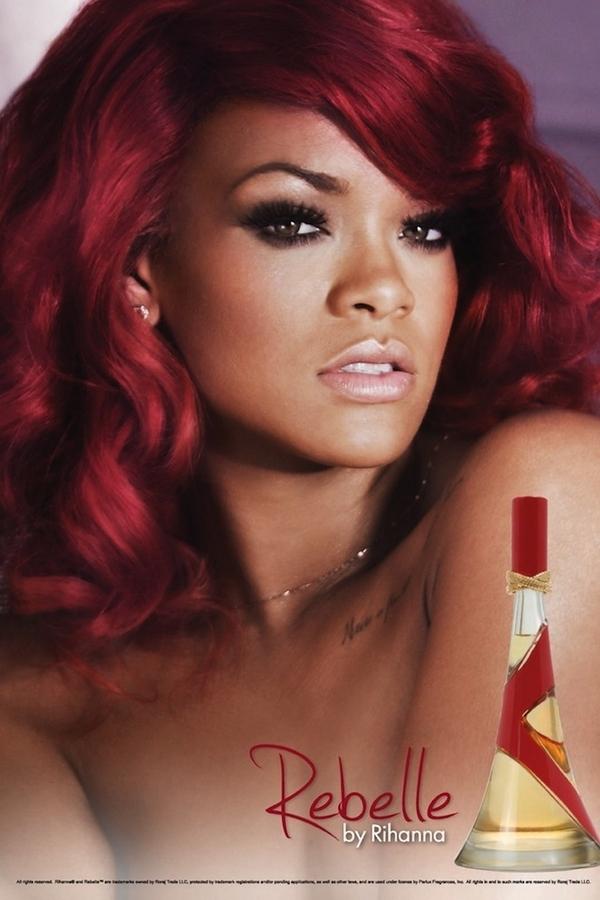 Рианна в рекламной кампании своего нового аромата Rebelle