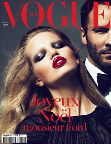Том Форд  - временный редактор Vogue. Франция