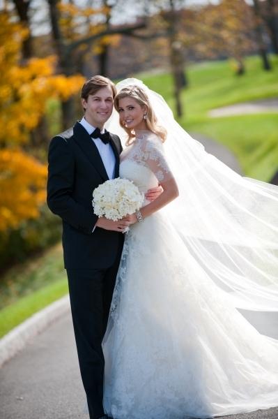 Первое свадебное фото Иванки Трамп