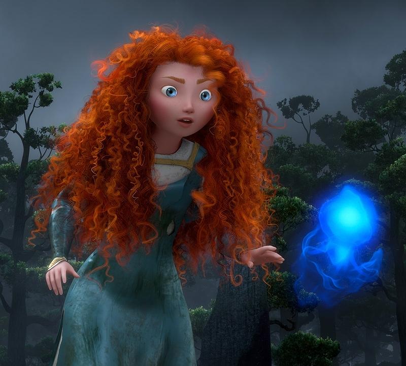 Новые кадры мульфильма «Храбрая сердцем» от студии Pixar