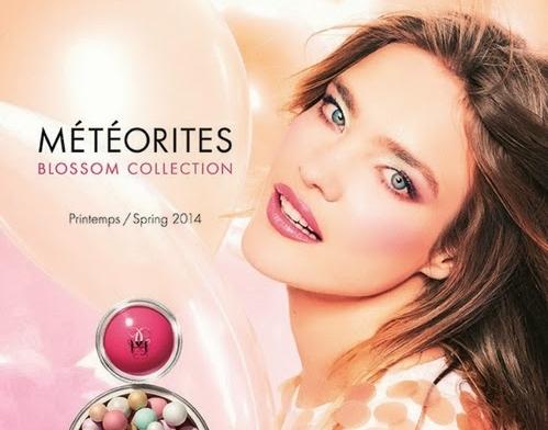 Новая коллекция декоративной косметики Guerlain Meteorites Blossom. Весна 2014