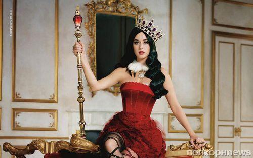 Тизеры рекламного ролика нового аромата от Кэти Перри «Killer Queen»