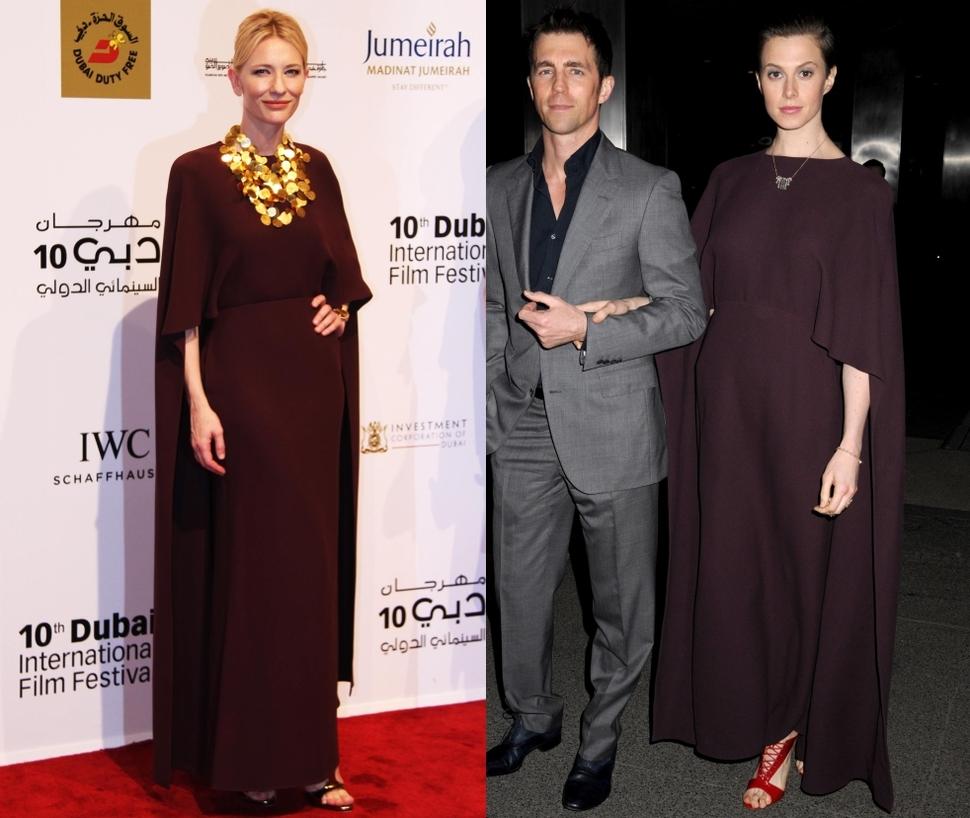 Fashion battle: Кейт Бланшетт и Элеттра Видеманн