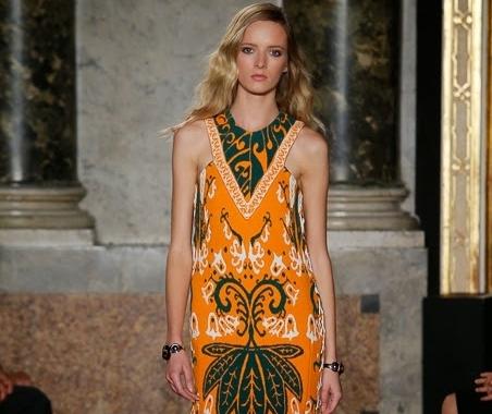 Модный показ новой коллекции Emilio Pucci. Весна / лето 2015