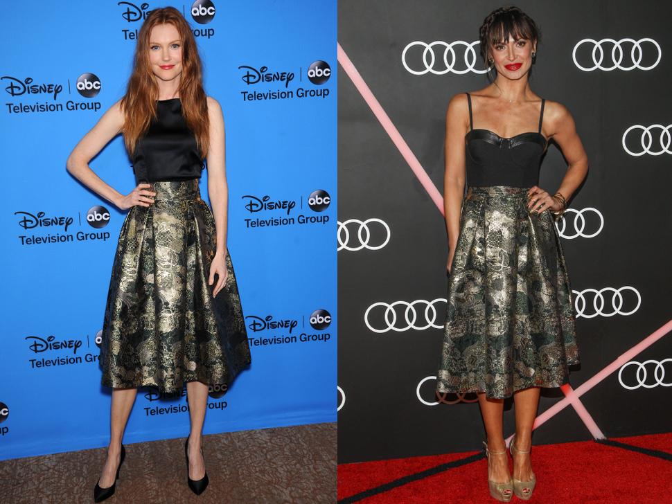 Fashion battle: Дэрби Стэнчфилд и Карина Смирнофф
