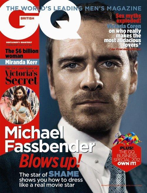 Майкл Фассбендер в журнале GQ Великобритания. Февраль 2012
