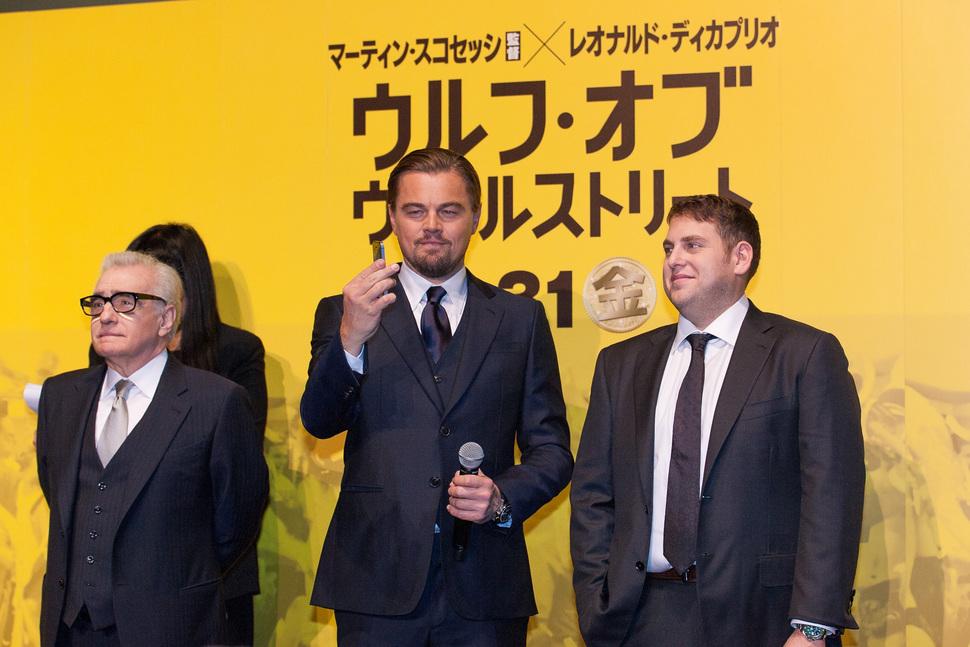 Премьера фильма «Волк с Уолл-стрит» в Токио