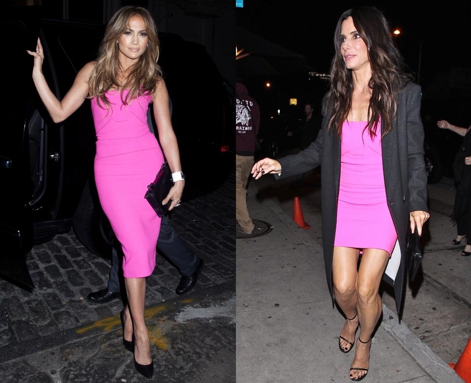 Fashion battle: Дженнифер Лопес и Сандра Буллок