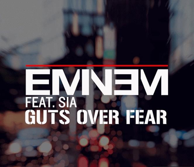 Новая песня Эминема и  Sia - Guts Over Fear