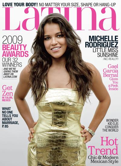 Мишель Родригес в журнале Latina.Май 2009