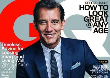 Клайв Оуэн в журнале GQ