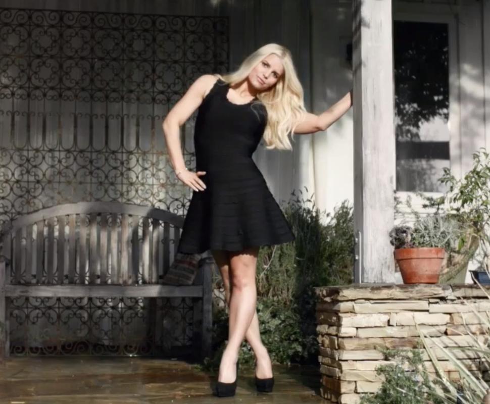 Джессика Симпсон в рекламном ролике Weight Watchers