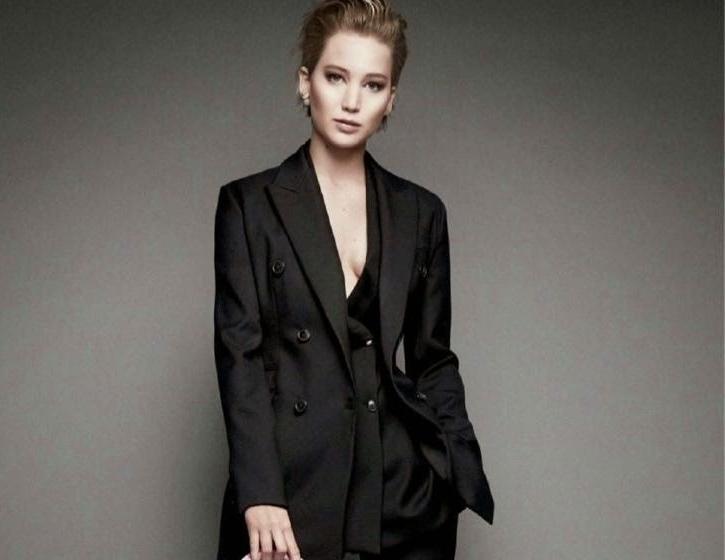 Дженнифер Лоуренс в рекламной кампании Miss Dior. Осень 2014