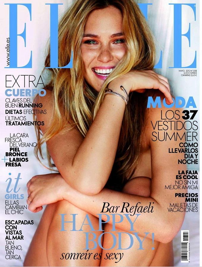 Бар Рафаэли в журнале Elle Испания. Май 2012