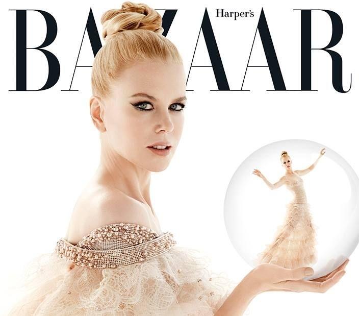Николь Кидман в журнале Harper's Bazaar Австралия. Декабрь 2013