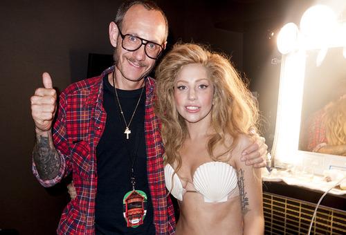 Закулисье VMA  с Lady GaGa и Терри Ричардсоном