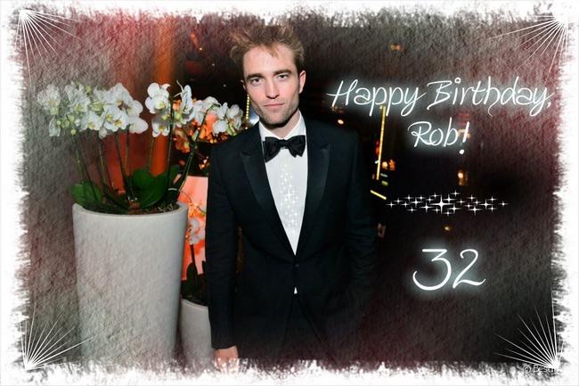 С днем рождения, Роберт Паттинсон!