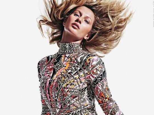 Первый взгляд на Жизель Бундхен в рекламной кампании Emilio Pucci. Осень 2014