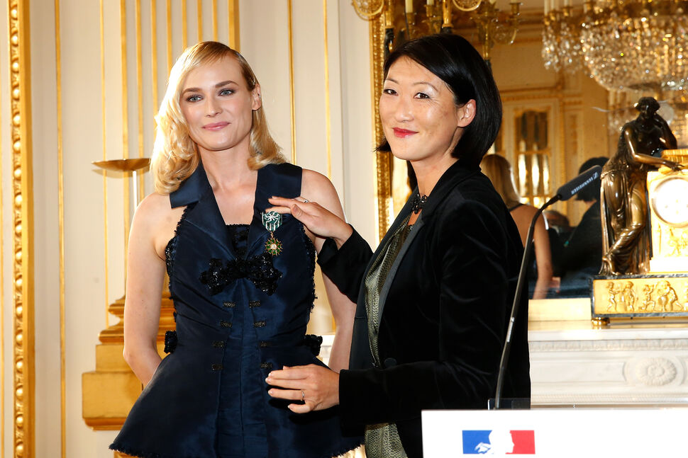 Диана Крюгер получила орден Искусства и литературы во Франции