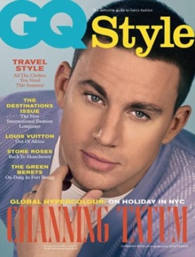 Чэннинг Тэйтум в журнале GQ Style Великобритания. Весна / лето 2012