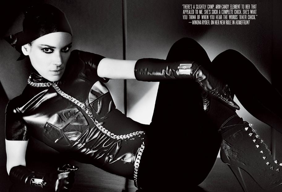 Вайнона Райдер в журнале V Magazine. Зима 2013-2014
