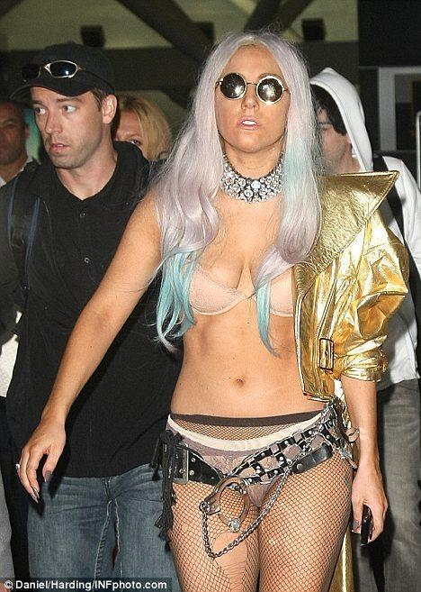 Новый костюм Lady GaGa