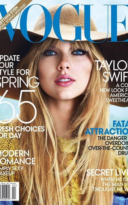 Тэйлор Свифт в журнале Vogue. Февраль 2012