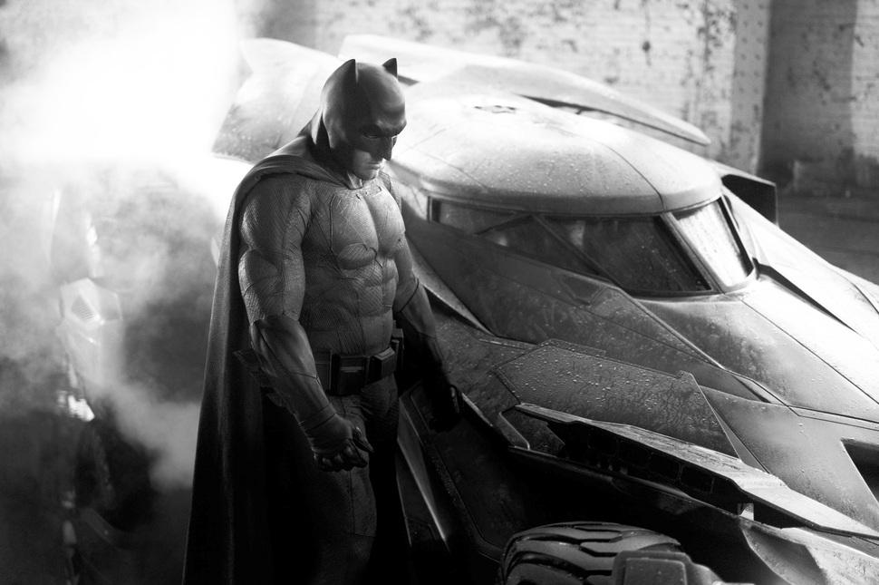 Первый взгляд на Бена Аффлека в роли Бэтмена