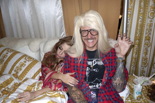 Терри Ричардсон за кулисами шоу Lady GaGa