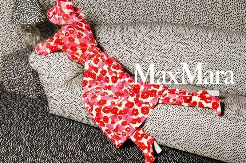 Рекламная кампания Max Mara. Весна / лето 2015