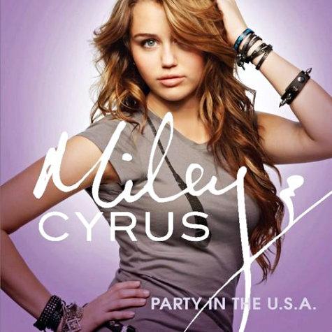Новый клип Майли Сайрус на песню «Party in the U.S.A»