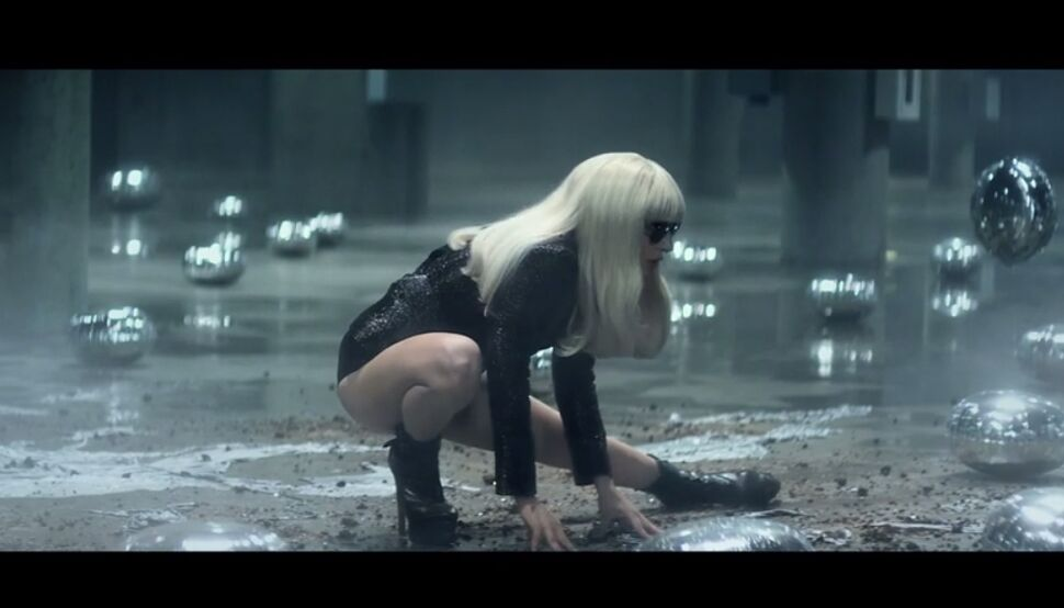 Реклама концерта Lady GaGa в Лондоне