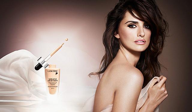 Пенелопа Крус  в рекламной кампании Lancome