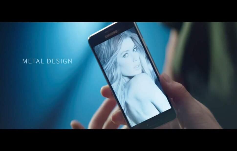 Даутцен Крез в рекламном ролике Samsung Galaxy Alpha