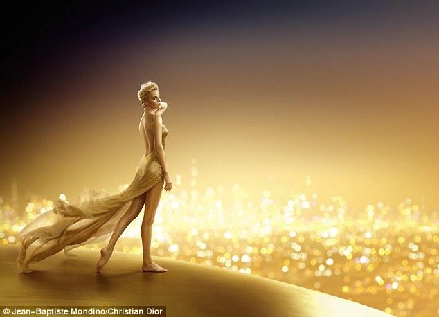 Тизер нового рекламного ролика J'adore Dior с Шарлиз Терон