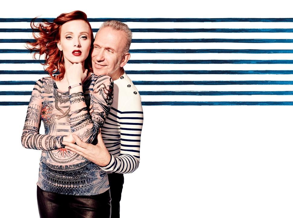 Рекламная кампания новой коллекции Jean Paul Gaultier for Lindex: первый взгляд