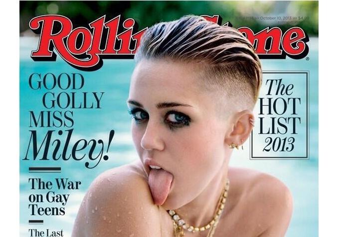 Майли Сайрус в журналах Fashion и Rolling Stone. Октябрь / ноябрь 2013