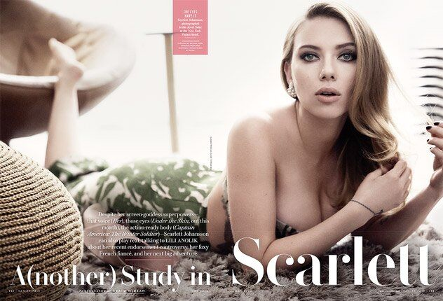 Скарлетт Йоханссон в журнале Vanity Fair. Май 2014